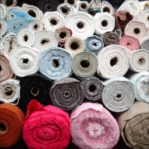 textile rolls Shanghai textile market